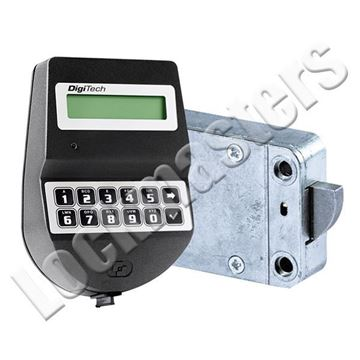 Picture of Tecnosicurezza Digitech Series Robobolt Lock Package; Black Keypad