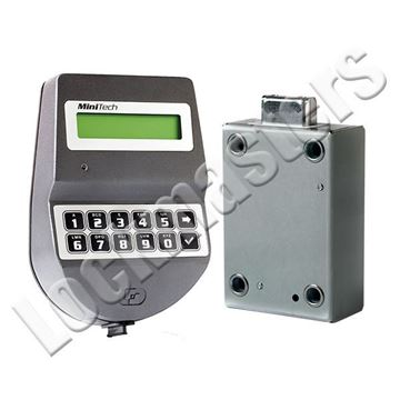Picture of Tecnosicurezza MiniTech Series Motor Lock Package; Gray Keypad