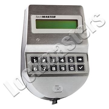 Picture of Tecnosicurezza Techmaster Series Satin Chrome Keypad Only