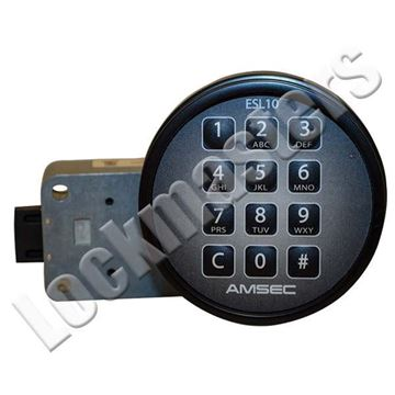 Picture of AMSEC 10XLS Electronic Combination Safe Slam Bolt Lock - Black Keypad
