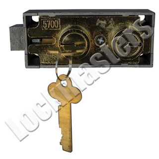Picture of Bluegrass Lock 5700 Safe Deposit - Mosler Replacement; Brass