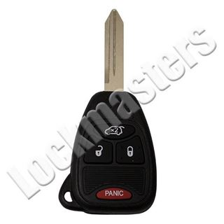 Picture of Chrysler 4 Button Remote Head Key