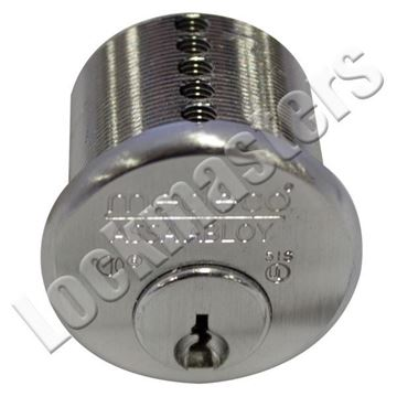 """Picture of Medeco 1 1/8"""" Mortise Cylinder Sub-Assembled"""
