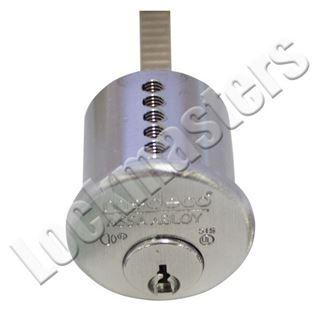 Picture of MEDECO BI LEVEL Rim Cylinder: FM Keyway: Bright Brass