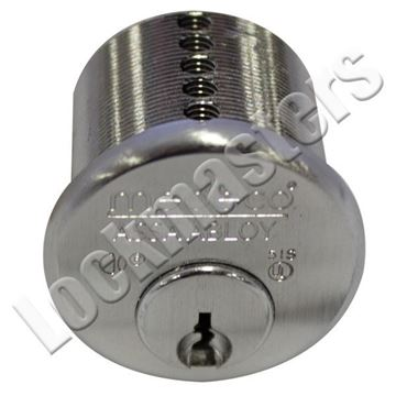 """Picture of Medeco 1 1/8"""" Mortise Cylinder; Z3 Keyway"""