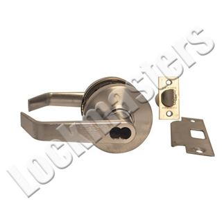 Picture of Dexter C1000 Series Grade 1 Entry Cylindrical Lock; Regular Lever; Satin Chrome