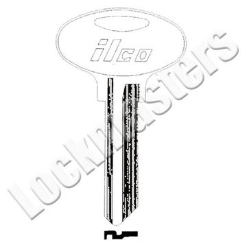 Picture of Ilco Kwikset 6 Pin Oval Bow Key Blank; EZ KW5