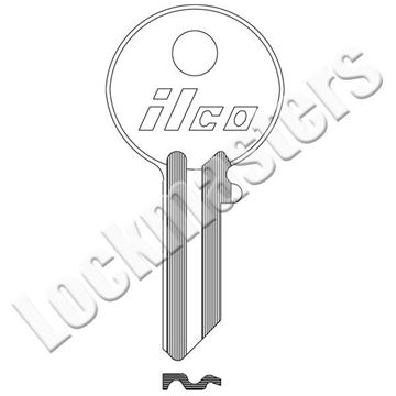Picture of Abus AB62 Key Blank; C Keyway