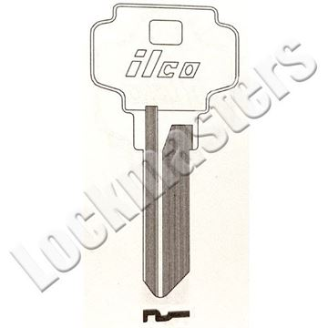 Picture of Adams Rite & Dexter D1054 Key Blank; Keyway K; EZ DE6