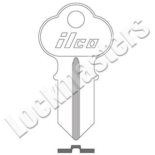 Picture of Ilco Chicago 1041 Key Blank; G Keyway; EZ CG1