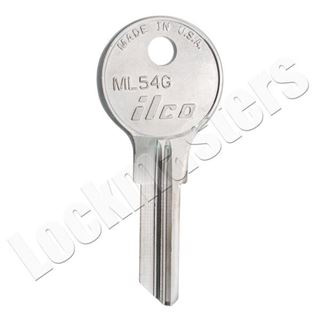 Picture of Ilco ML54G key blank for Fort locks