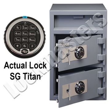 """Picture of GARDALL Under Counter  DEPOSITORY SAFE: 28"""" H x 20"""" W x 16"""" D"""