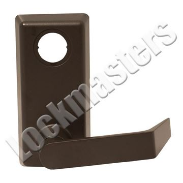 "Picture of Von Duprin ""Lever"" Exit Device Trim: Right Hand Reverse: Bronze"