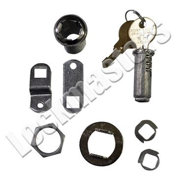 Picture of CompX Fort 23000 Series Single Bitted Cam Locks w/ Universal Keyway