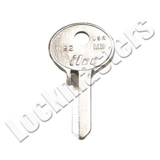 Picture of Ilco Master Padlock 1092 Key Blank; VR Keyway; EZ M3