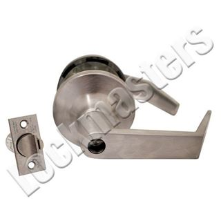 Picture of Yale Cylindrical Lever Lock: Augusta Lever: Satin Chrome
