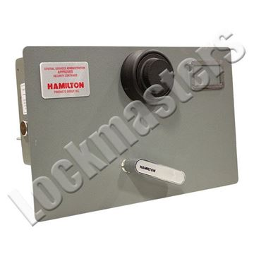 Picture of Hamilton Class 6 Legal Size Drawer Head with Kaba Mas X-10: Gray