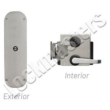 Picture of S&G 2890C Type IX Lever Exit Only; #3 Strike