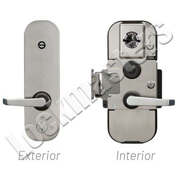 Picture of S&G 2890C Type VII Lever Exit with Access Control Only & #9 Strike