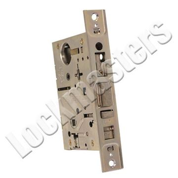 Picture of Best Case only mortise lock* 7 pin housing accepts all BEST cores Satin Chrome