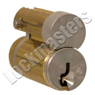 Picture of Schlage Full Size Interchangeable Core (FSIC), Removable Core, 1-Bitted Mechanism: Standard Pin and Tumbler Finish: 626, Satin Chrome