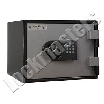 "Picture of AMSEC Burglary & Fire Protection Compact Safe - 9""H x 12.5""W x 11""D"