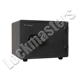 """Picture of AMSEC 8-3/8"""" x 14"""" Imported Fire Safe with AMSEC ESL5 Lock"""