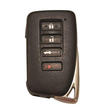 Picture of 4 Button Remote: 14-16
