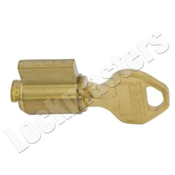 Picture of Master Lock Padlock Cylinder: Zero Bitted: K17 Keyway