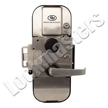 Picture of S&G 2890 Pedestrian Door Lock Lever with Access Control