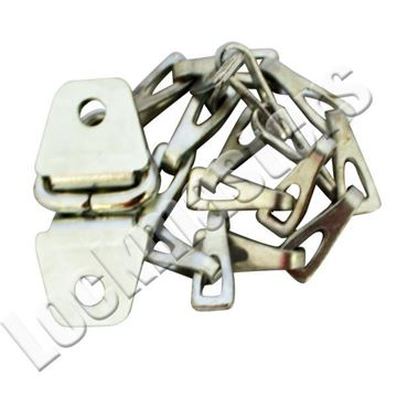 "Picture of Master Lock 9"" Long Zinc Plated Steel Chain with Holder"