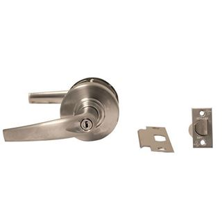Picture of Schlage ND Series Cylindrical Lock; Privacy w/ Athens Lever; Satin Chrome