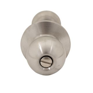 Picture of Dexter C2000 Series Grade 2 Privacy Ball Knob Cylindrical Lock; Satin Stainless Steel