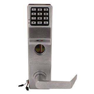 Picture of Alarm Lock Mortise Digital Door Lock: Satin Chrome