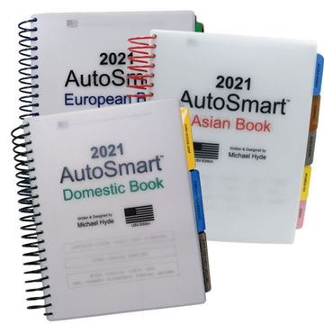 Picture of 2021 AutoSmart Reference Books - Set of 3 Asian, European & North American