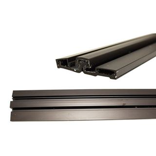 Picture of Select Hinges SL57 Series Heavy Duty Full Surface Continuous Door Hinge; Anodized Dark Bronze