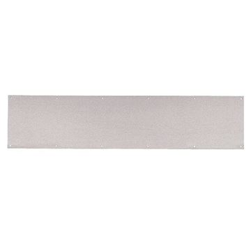 """Picture of IVES 8400 Series 6"""" x 28"""" Protection Kick Plate; Stainless Steel"""