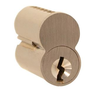 Picture of Cylinder Lock Interchangeable Core: Satin Chrome