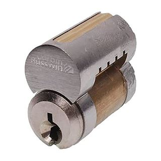 Picture of Corbin Interchangeable Core Cylinder: Satin Chrome