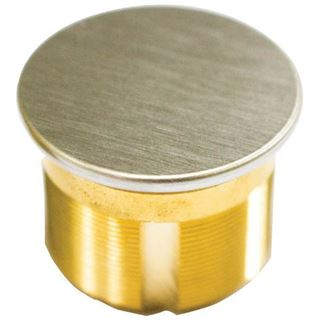 """Picture of Ilco 1-¼"""" Dummy Mortise Cylinder; Satin Chrome"""
