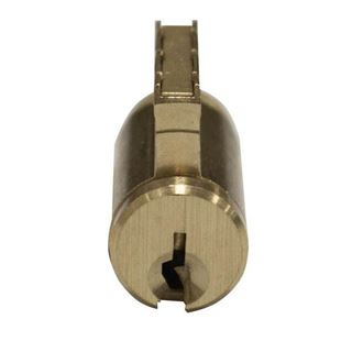 Picture of Ilco Dormakaba Cylinder Lock: Key-In-Knob: Satin Brass
