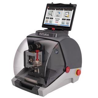 Picture of Ilco Futura Edge Plus Key Machine, Edge Cut and Medeco Biaxial Keys