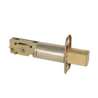 "Picture of Ilco Deadbolt Standard Latch: 2-3/4"" Backset: Bright Brass"